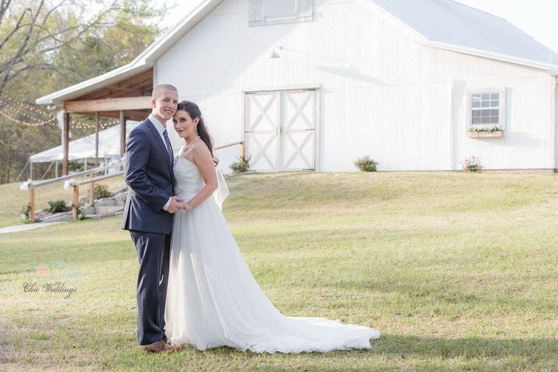 Cheap White Barn Wedding Venue Columbus Alabama