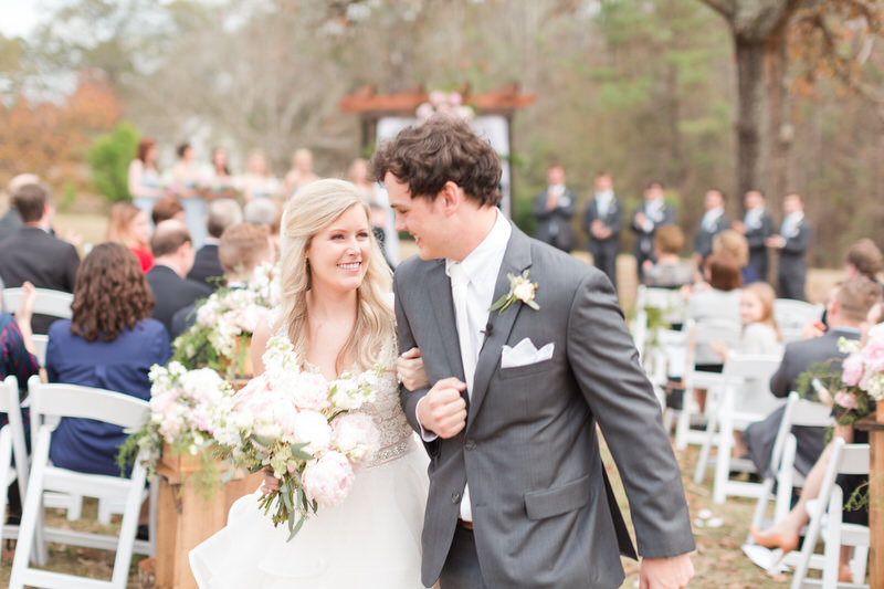 Elegant Outdoor Southern Barn Wedding