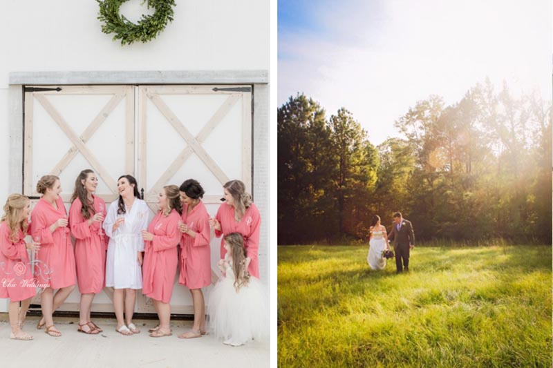 Field Outdoor Barn Wedding Eufala Alabama Venue