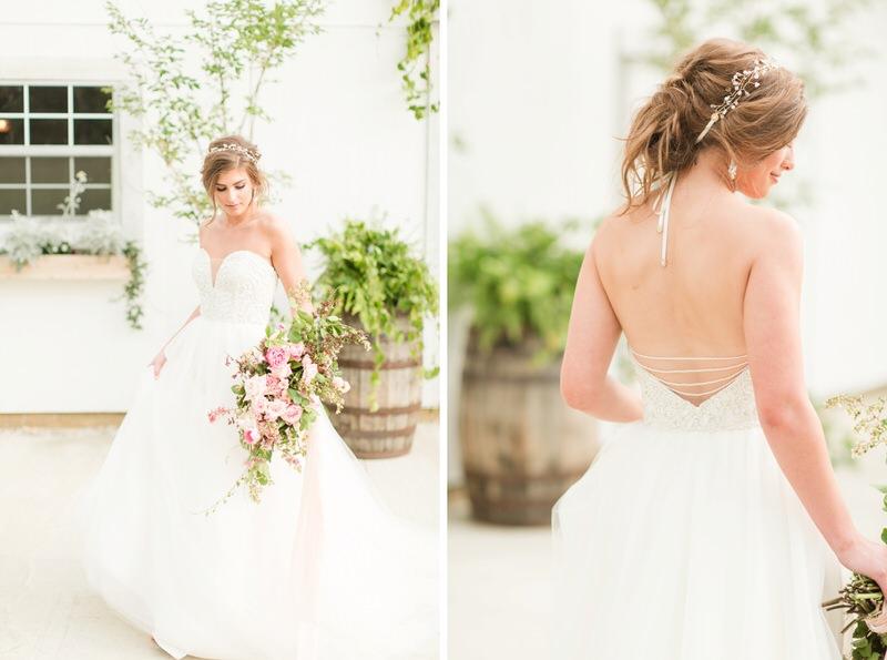 Heidi Elenora Outdoor Barn Wedding Styled Shoot by AL Weddings