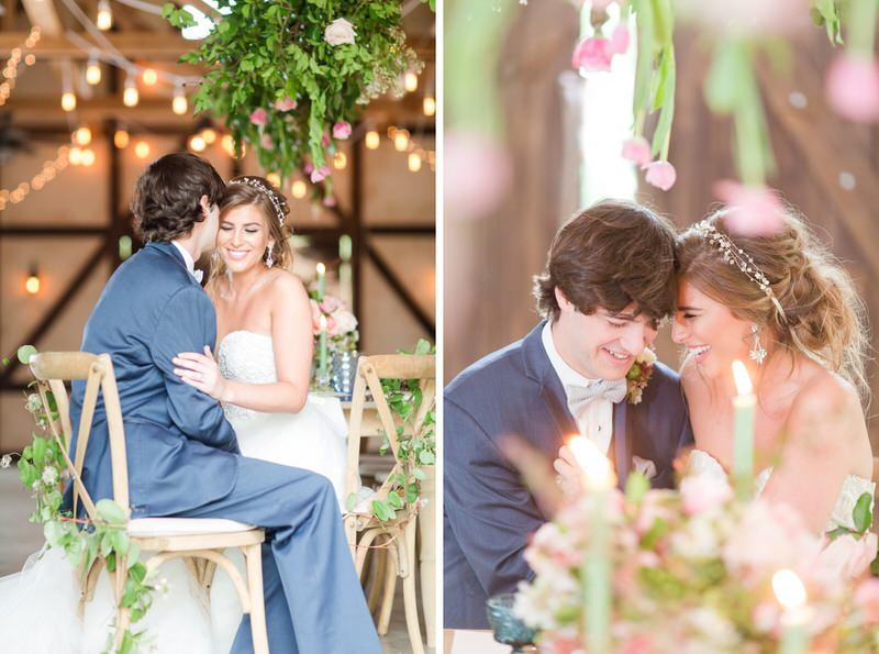 Romantic Table Scape by Thorne and Thistle Alabama Florist