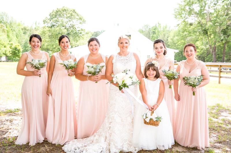 Summer Farm Wedding Venue